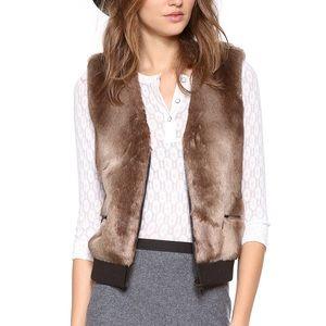 CLUB MONACO | Natasha faux fur vest